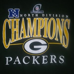 GREEN BAY PACKERS NORTH DIVISION CHAMPIONS TEE